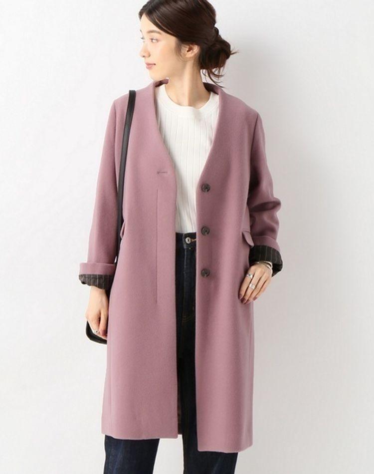 大人可愛いピンクコートのコーデ術。この冬注目のデザインは?