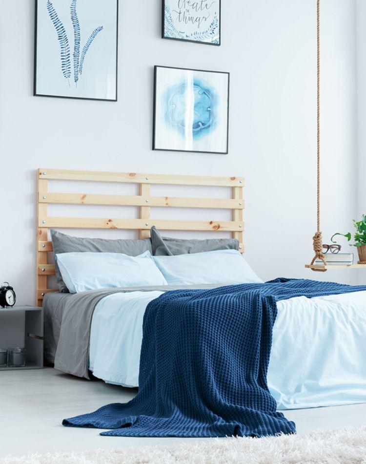 ベッドDIYで寝室をおしゃれ空間に!便利な素材やアイデア例ご紹介