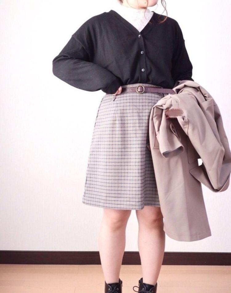 ぽっちゃりさんに学ぶ冬のコーデ術!おしゃれと着痩せを両立する技