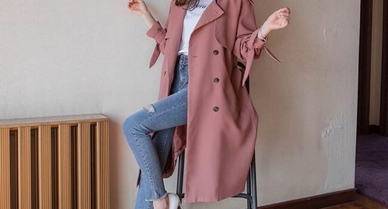 くすみピンクコートのコーデのコツは?おすすめの着こなし方もご紹介