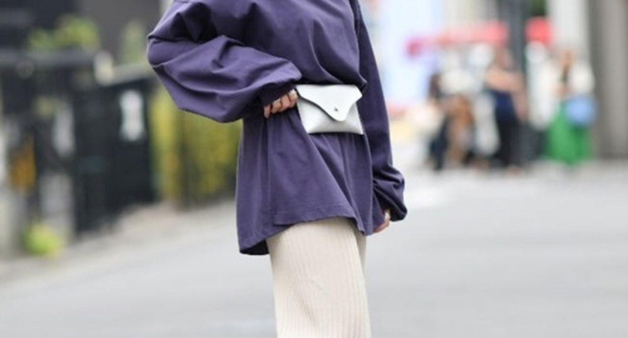 パープルカットソーの季節別コーデ!紫のトップスに合うのは何色?