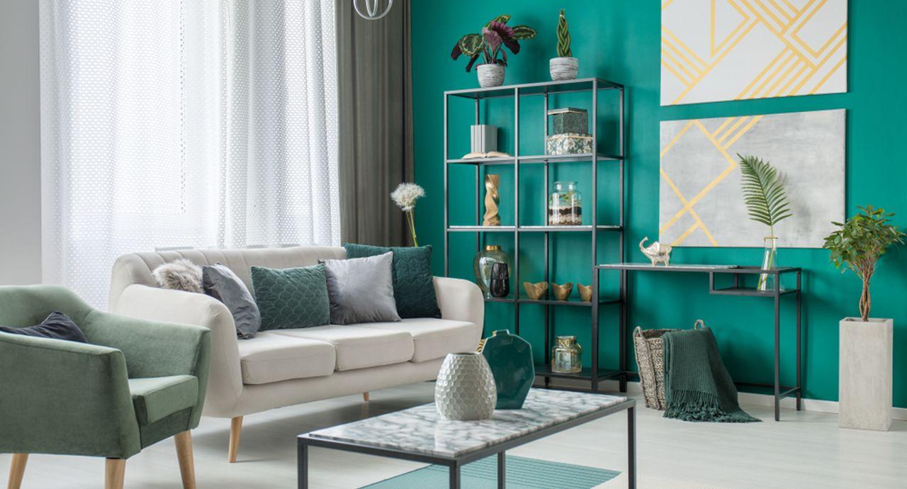 緑のあるお部屋でリラックス!緑に合う色やインテリア実例をご紹介