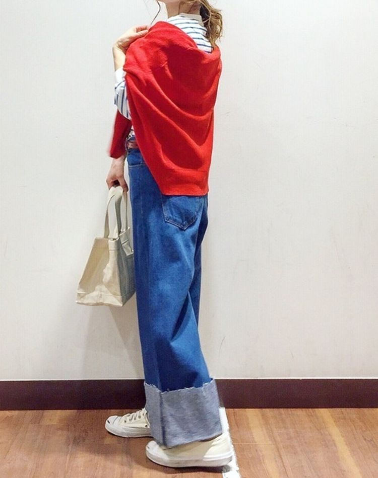 トリコロールコーデがキャッチーで大人可愛い!おすすめの着こなし例