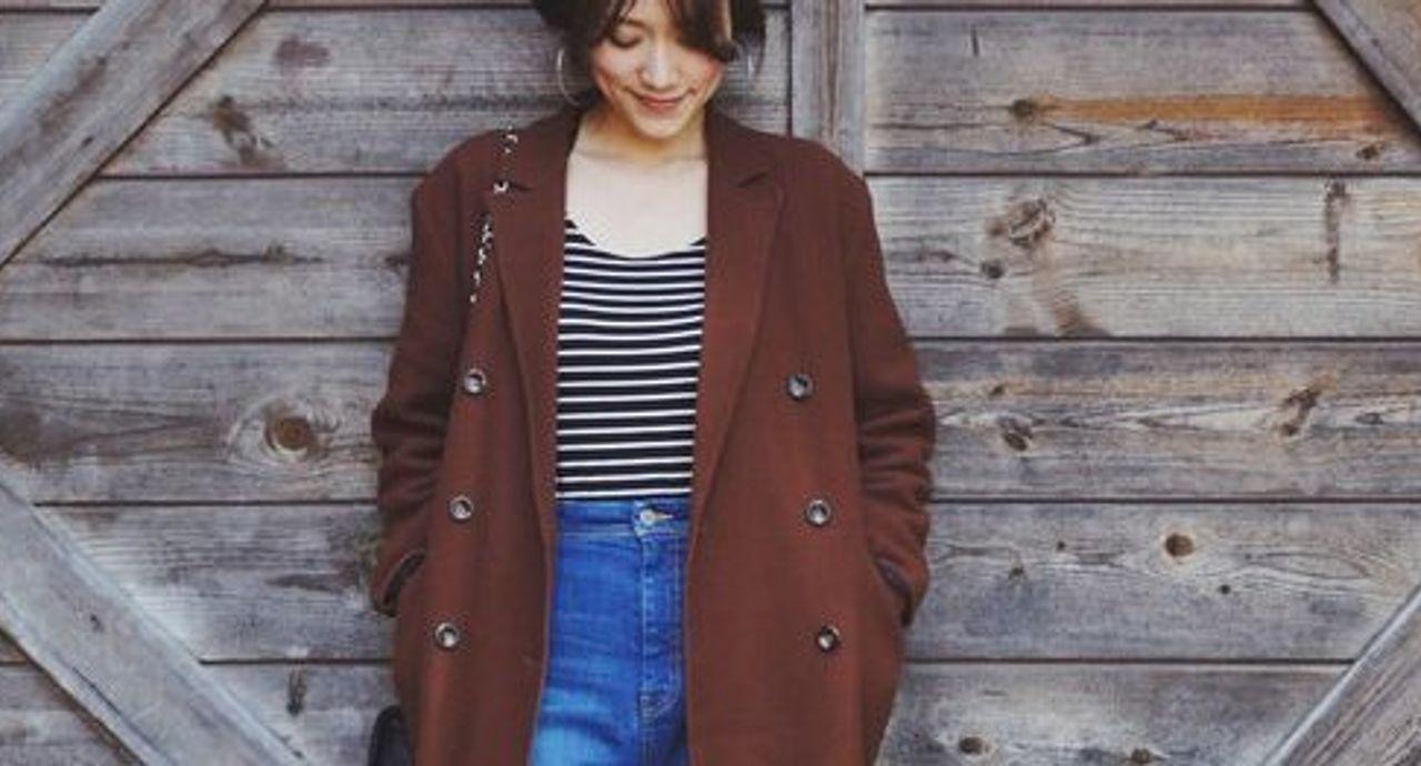 """女っぽくて可愛い""""チョコカラー""""のバレンタインコーデ7選"""