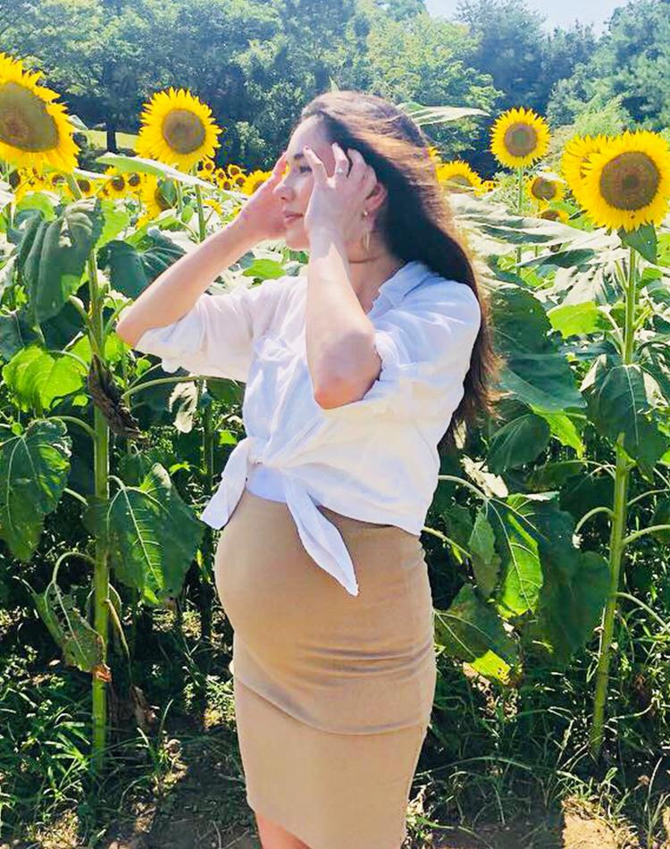 妊娠8ヶ月の今だからこそ楽しめる♡ テイラー鈴木流マタニティコーデ