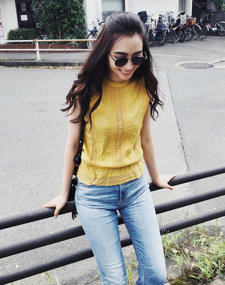 美人イエローで垢抜ける!黄色で作る旬顔コーデカタログ