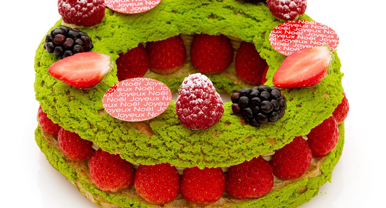 「パティスリー・サダハル・アオキ・パリ」フォトジェニックな2017クリスマスケーキ