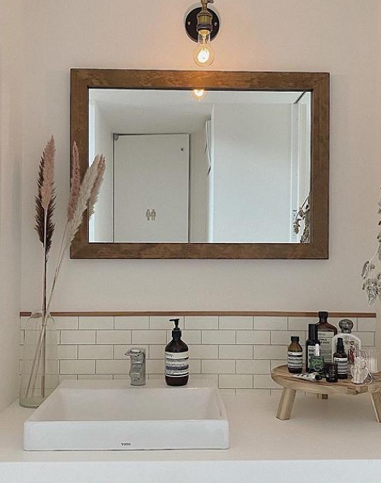 洗面所DIYでおしゃれな空間へ!見た目・収納力重視のアイディア