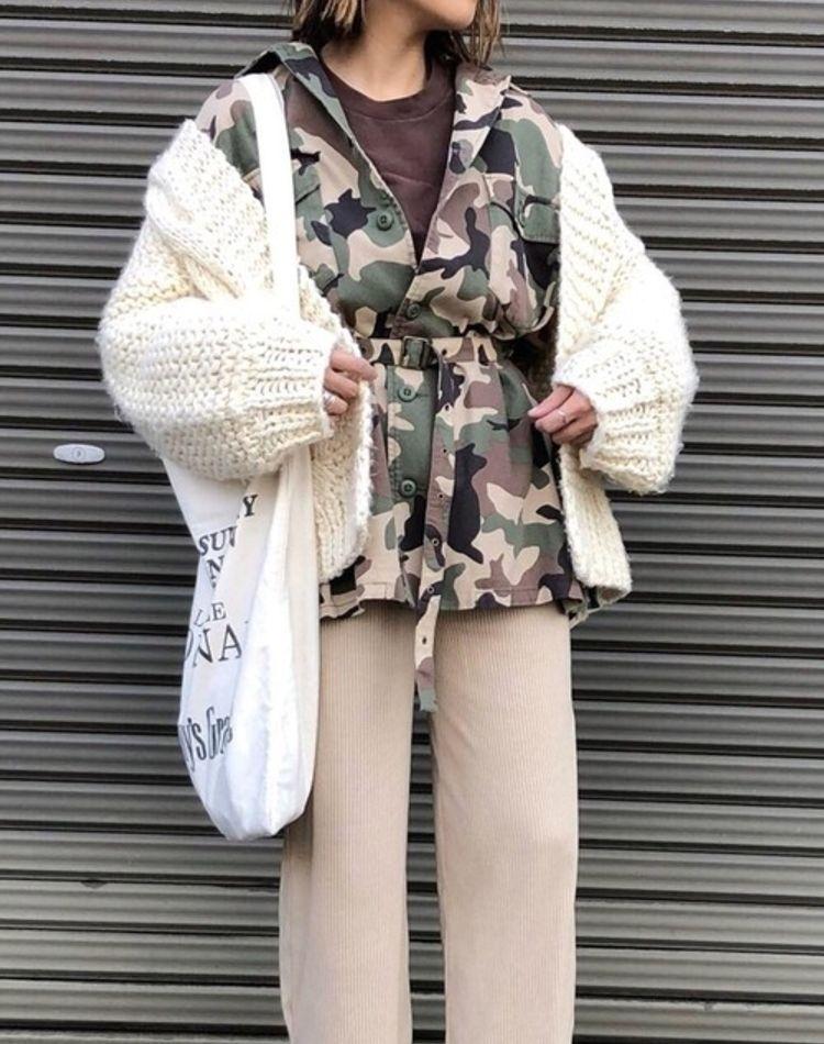 迷彩ファッションの着こなしポイントは?季節・年代別コーデを大公開
