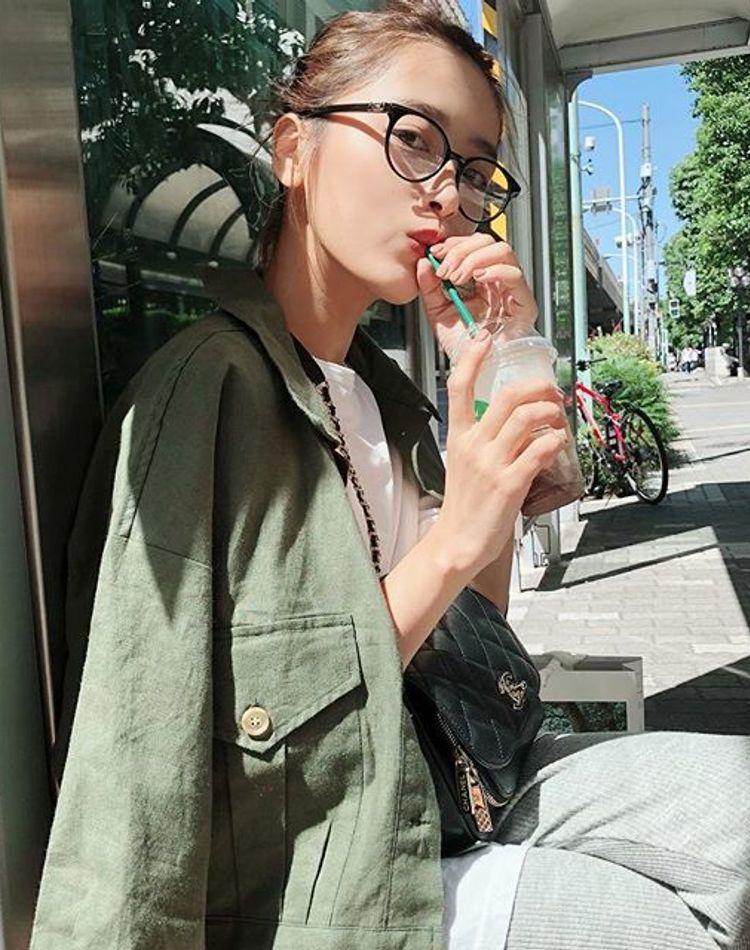 モデル近藤千尋さんの私服コーデが大人可愛い!おしゃれな着こなしをチェック