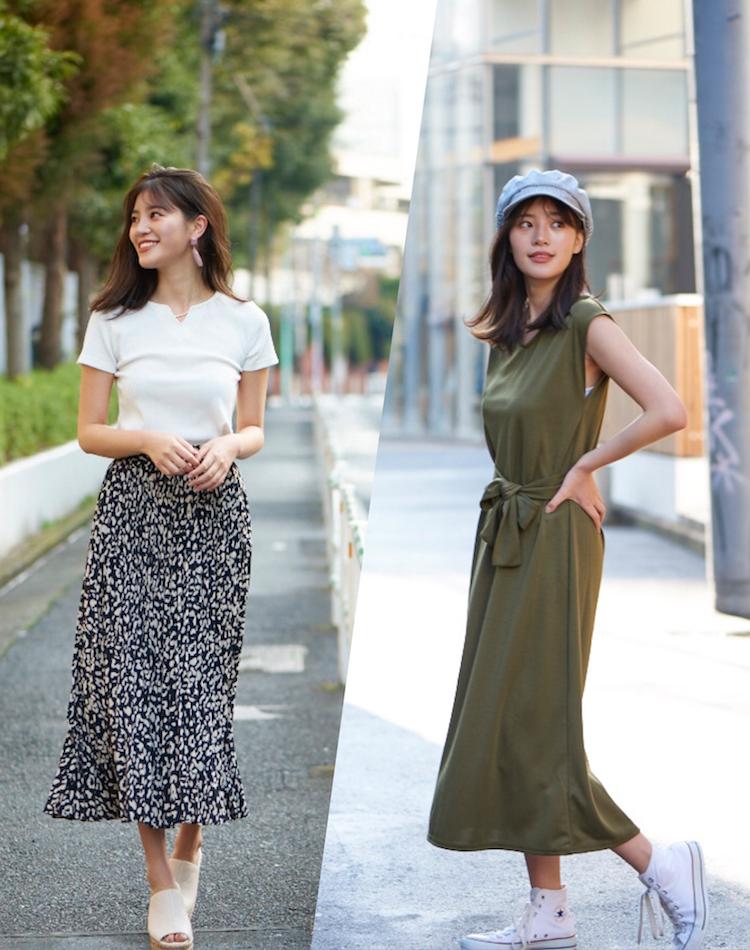 シンプルだけどこなれ見え。 大人の春夏ファッションテク7パターン