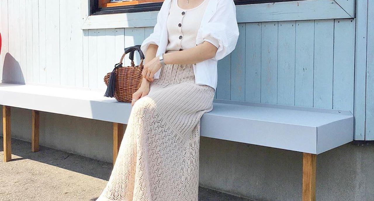 GUのニットスカートが可愛い!季節・年代・種類別のコーデ10選
