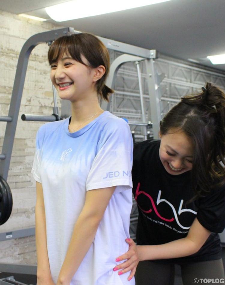大江穂乃佳が最近通い始めた ジムトレーニングを大公開!
