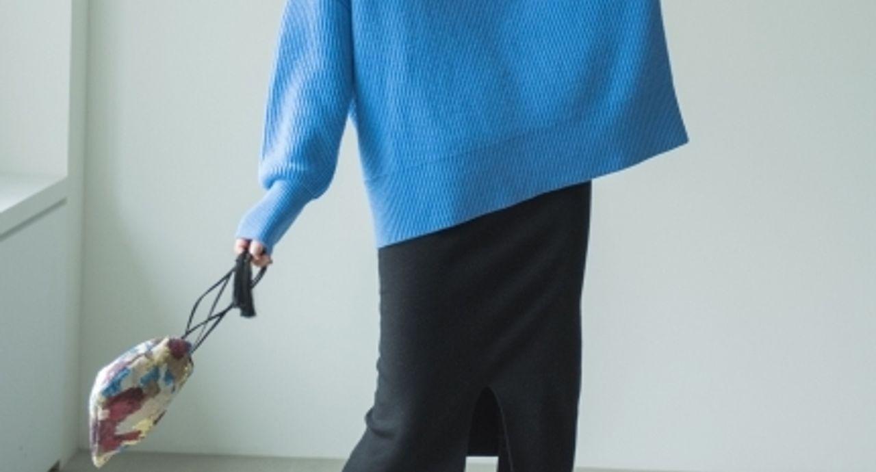 スカートレイヤードコーデの作り方!重ね着テクで旬顔に