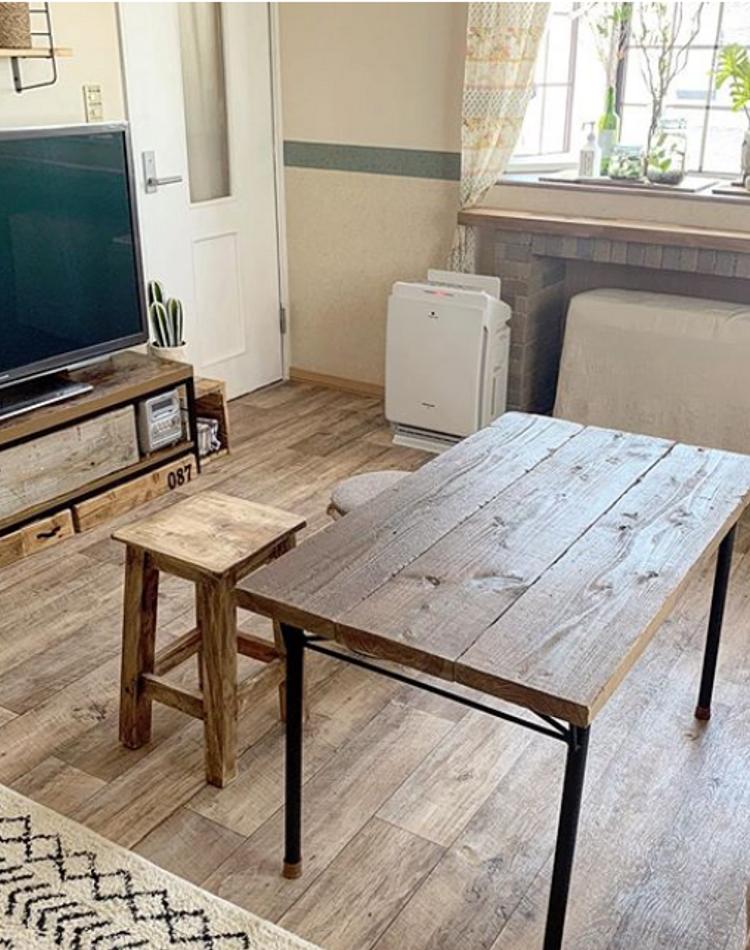 テーブルを安くDIYしておしゃれに!簡単な作り方やアイディア集