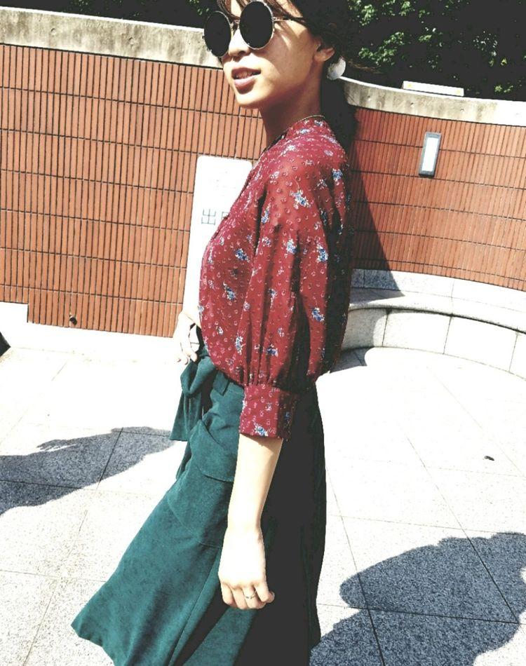 赤×緑コーデはどうやって着る?【季節別】おしゃれ見本帳