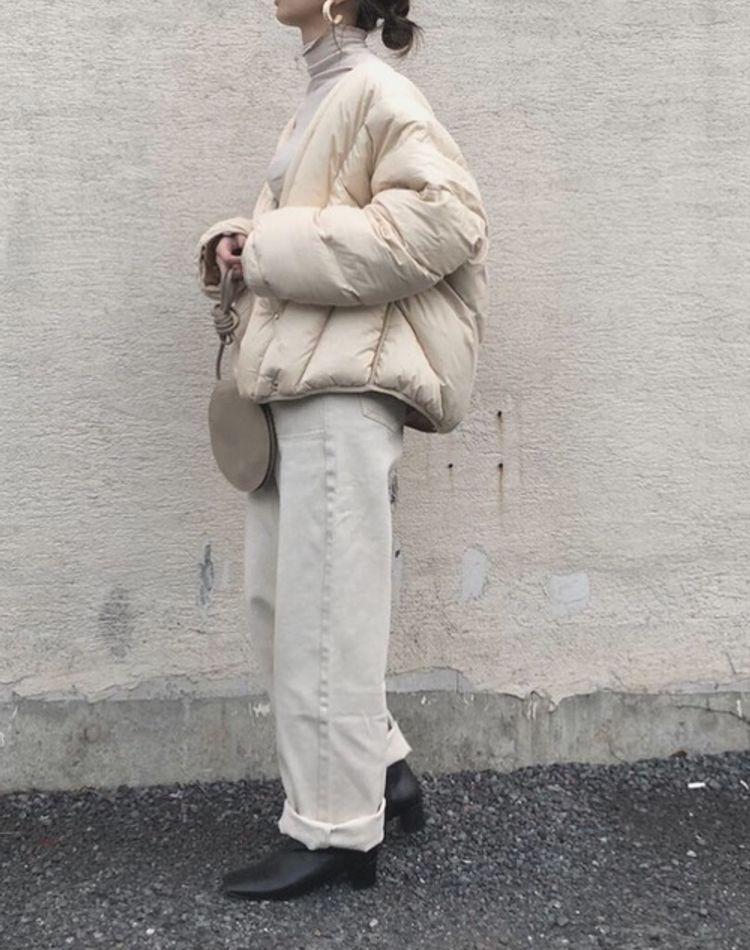 冬のオールホワイトコーデ9選!大人の白×白の着こなしがおしゃれ