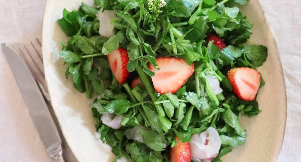 「クレソン」で美味しくキレイにデトックス!夏のダイエットにも効果的な4レシピ