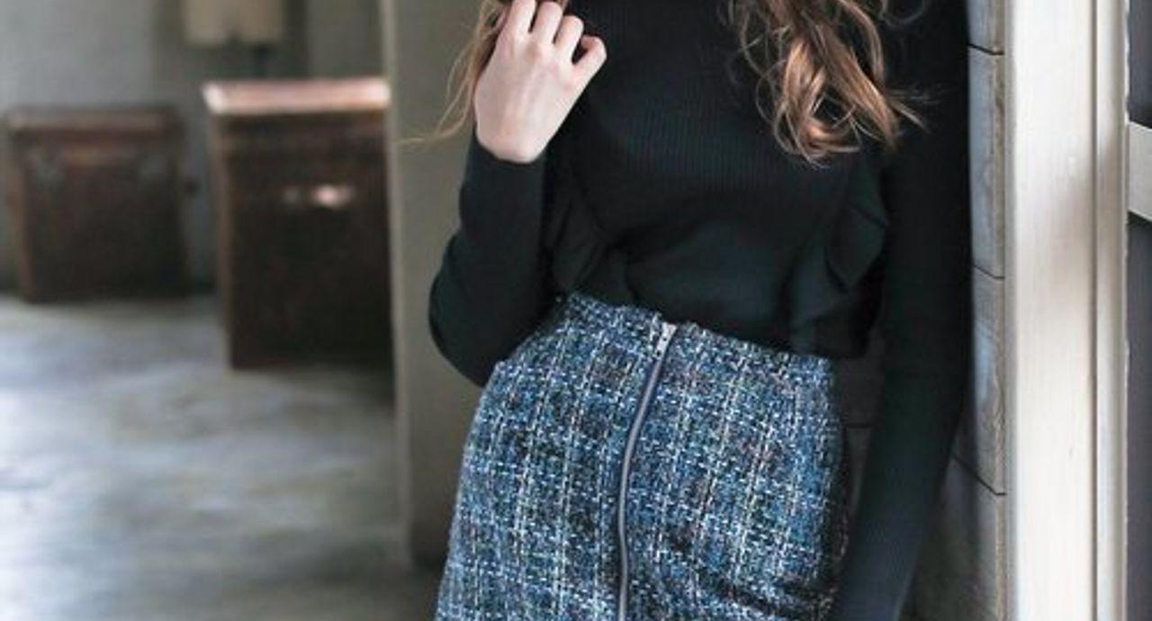 タイトミニのコーデがかわいい!【季節別】大人女子の着こなし