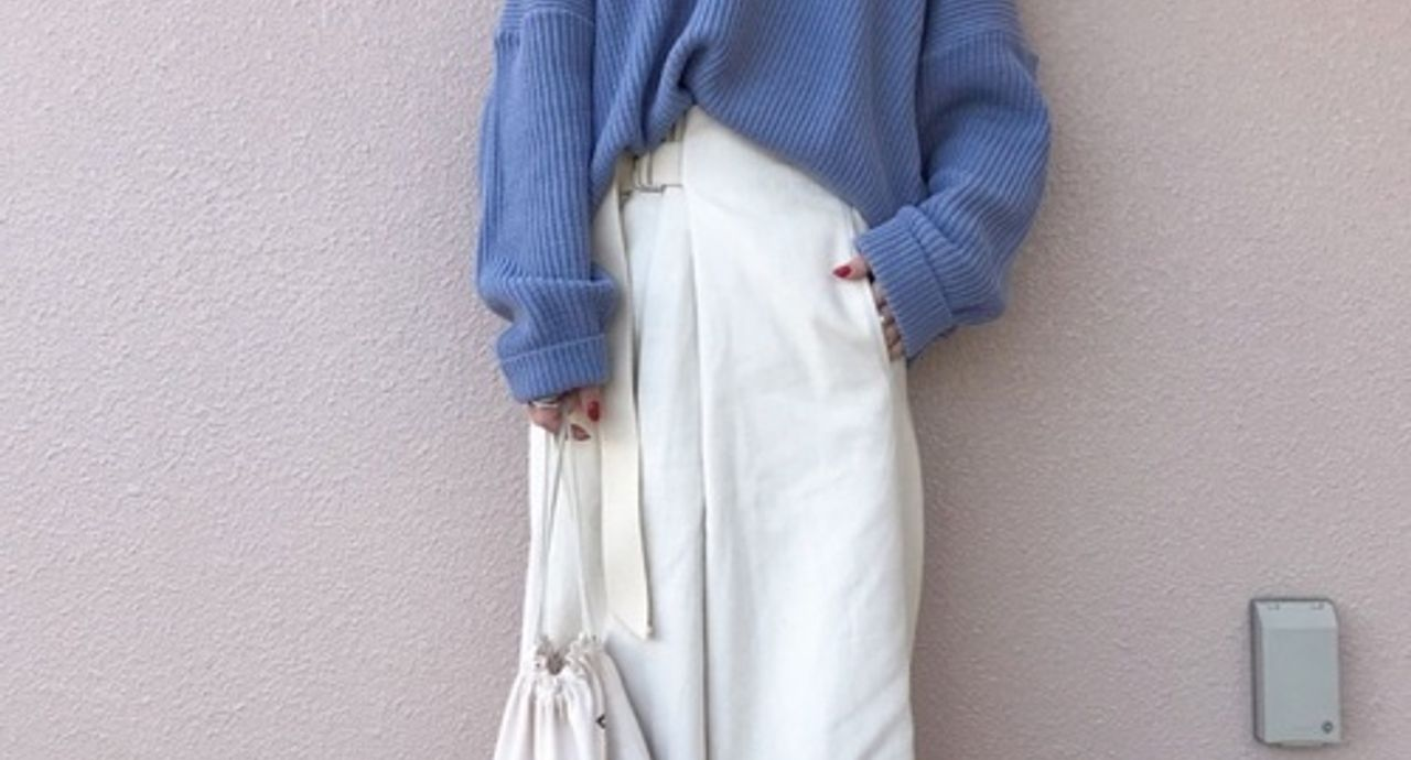 春のセーターはいつまで着られる?時期や年代別のおすすめコーデ9選