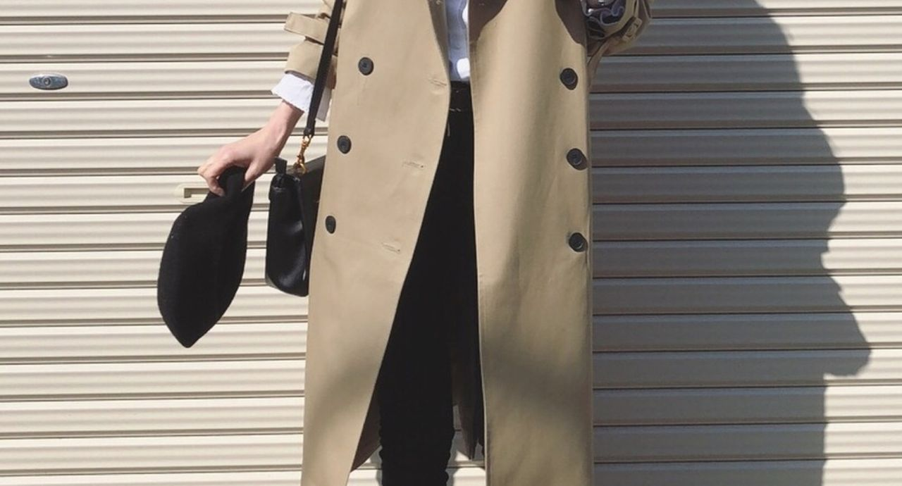 【2018トレンド】トレンチコートが主役な春コーデ7案