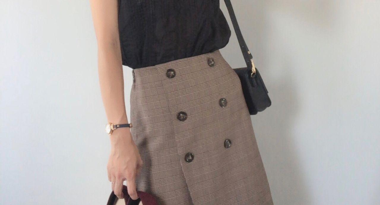 GUから美人スカートが勢揃い!暑い時期から秋まで着回すコーデ