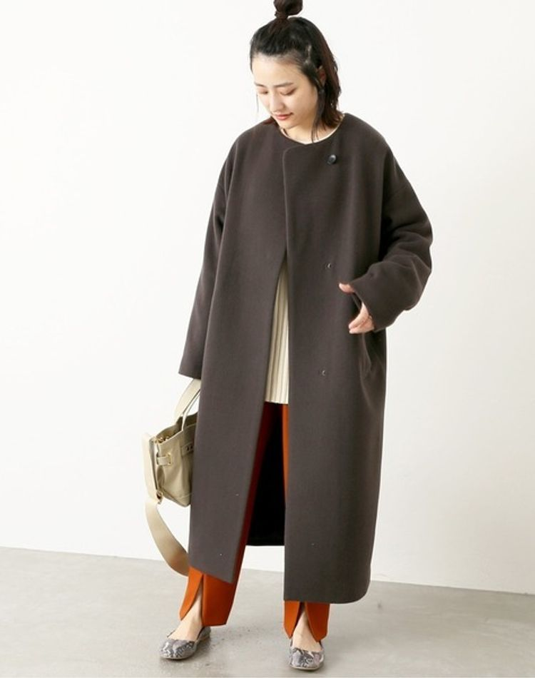 大人女子のロングコートの着こなし!アイテム別・季節別コーデ9選