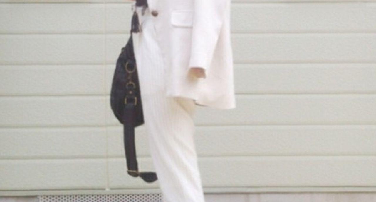 白ジャケットのレディースコーデ!フォーマルからカジュアルまで