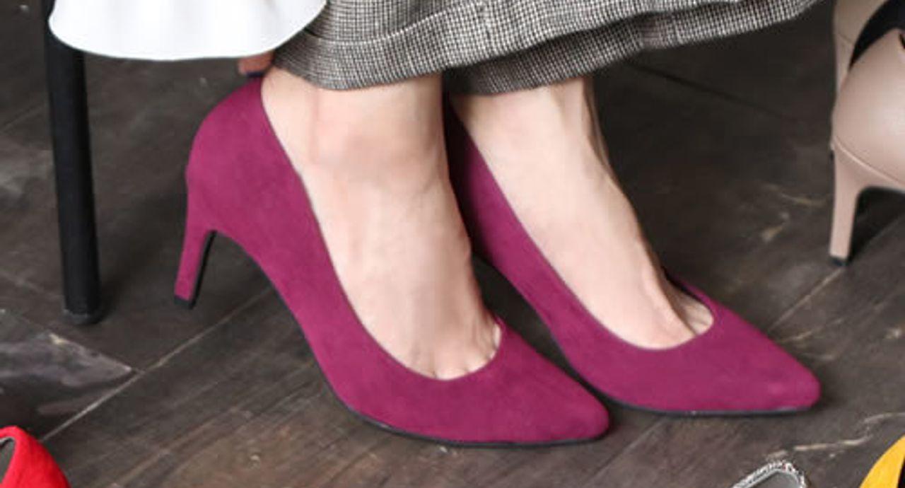 秋に真似したいパンプスコーデ!色のチョイスや靴下との合わせ方は?