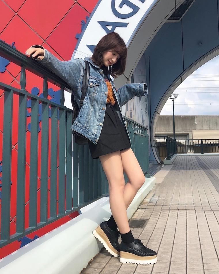 大江穂乃佳が秋のお気に入り私服&セルフメイクを公開します♪