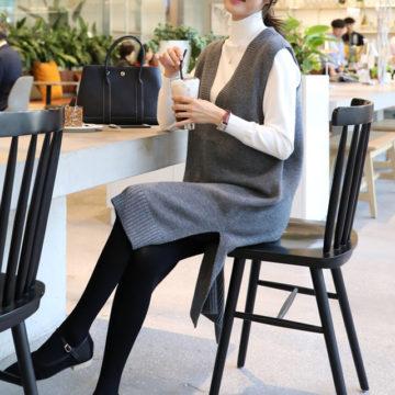 韓国女子に習う秋コーデ!大人可愛いと防寒を両立する着こなしテク