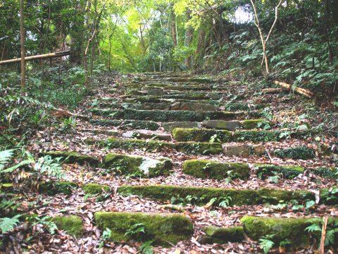 神の住む山・佐白山で 神の領域足を踏み入れ文化財「笠間城」探索!