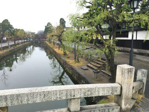 倉敷美観地区を歩いて くらしき川舟に乗船して歴史的な町並みを体感
