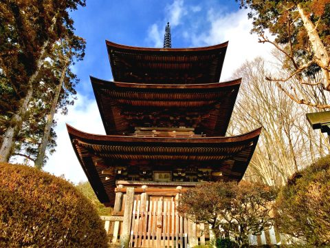 青木村 国宝「大法寺」三重塔と上田盆地の三重塔を三倍楽しむ歴史旅