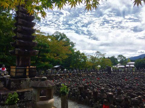 古来からの葬送の地あだしの 1200年の歴史あるあだし野念仏寺へ
