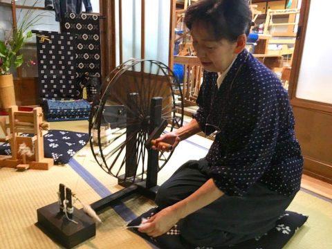 伝統工芸の町津山  手漉き和紙&作州絣から見る津山の伝統文化