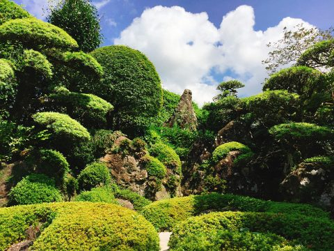 名勝指定!美しい庭園で癒される~知覧武家屋敷庭園巡り~Part1
