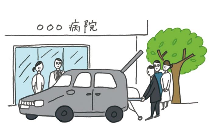 搬送 | 葬儀の流れ