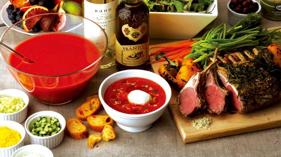 夏のスープをたのしもう