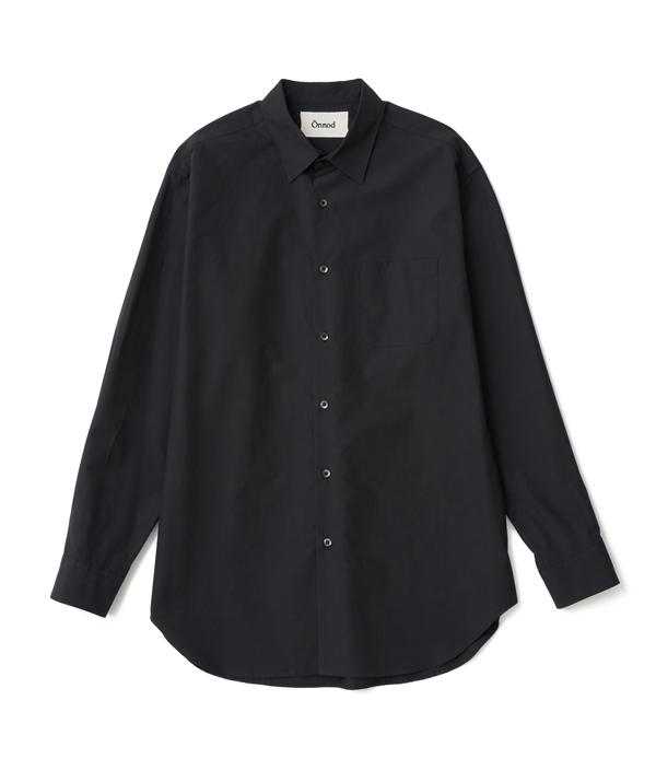 Regular color shirt 01 /2 /Black /Ōnnod