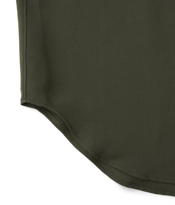 Regular color shirt 02 /3 /Khaki /Ōnnod