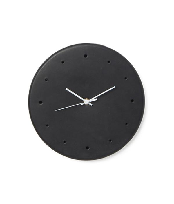 Leather Clock <Black> / Hender Scheme(エンダースキーマ)