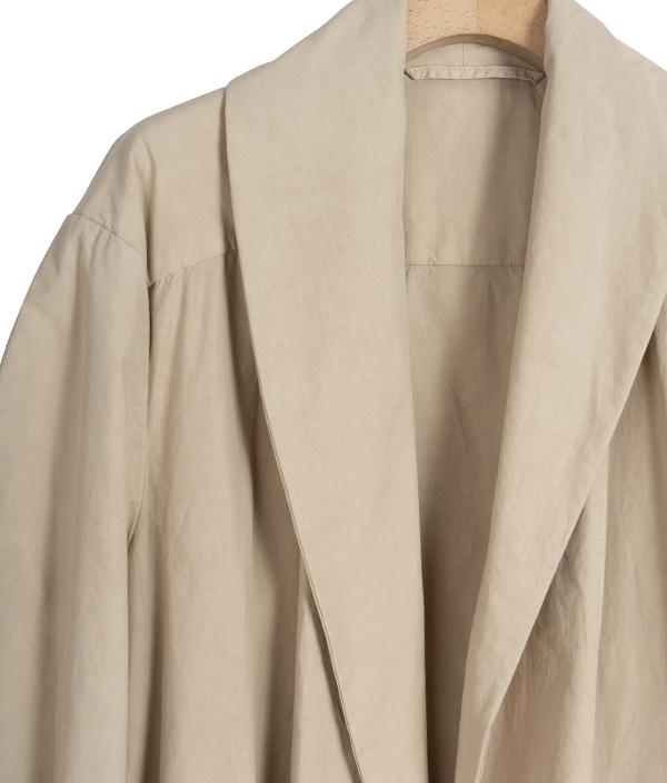 LEMAIRE Tie Maxi Coat / Natural / 34
