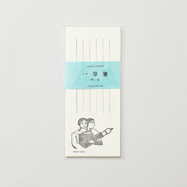 OJIKAPPAN/おじかっぱん 一筆箋 挿し絵