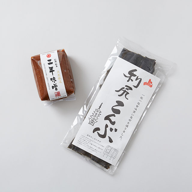 【2点SET】信州みそとお出汁のセット