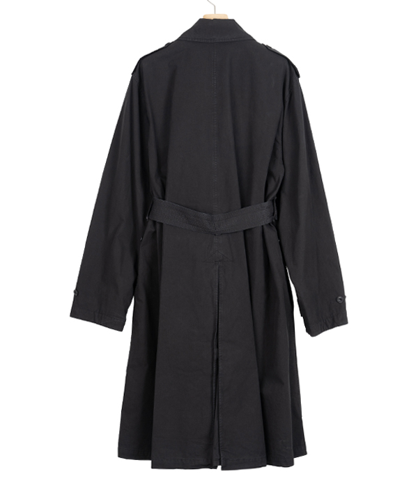 LEMAIRE Trench coat / Black