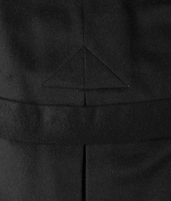 LODEN COAT / BLACK