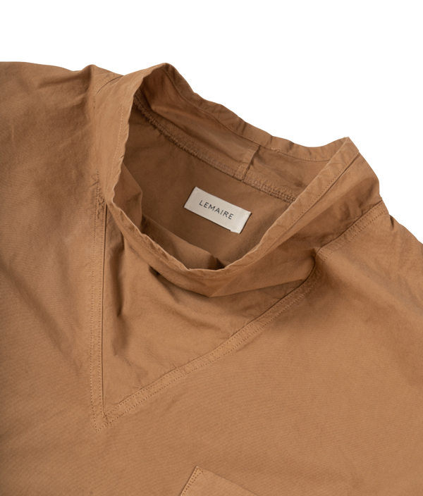 LEMAIRE Loose collar top / Coconut