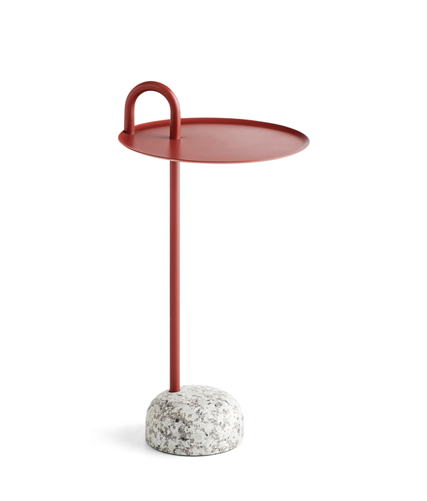 Bowler Table <Tile Red >