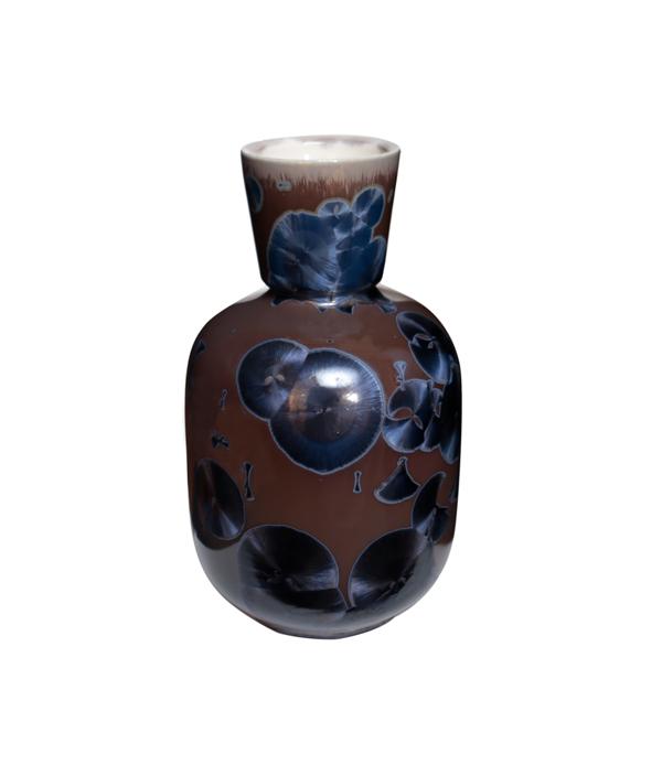 CRYSTALLINE Cup vase /Milan Pekar